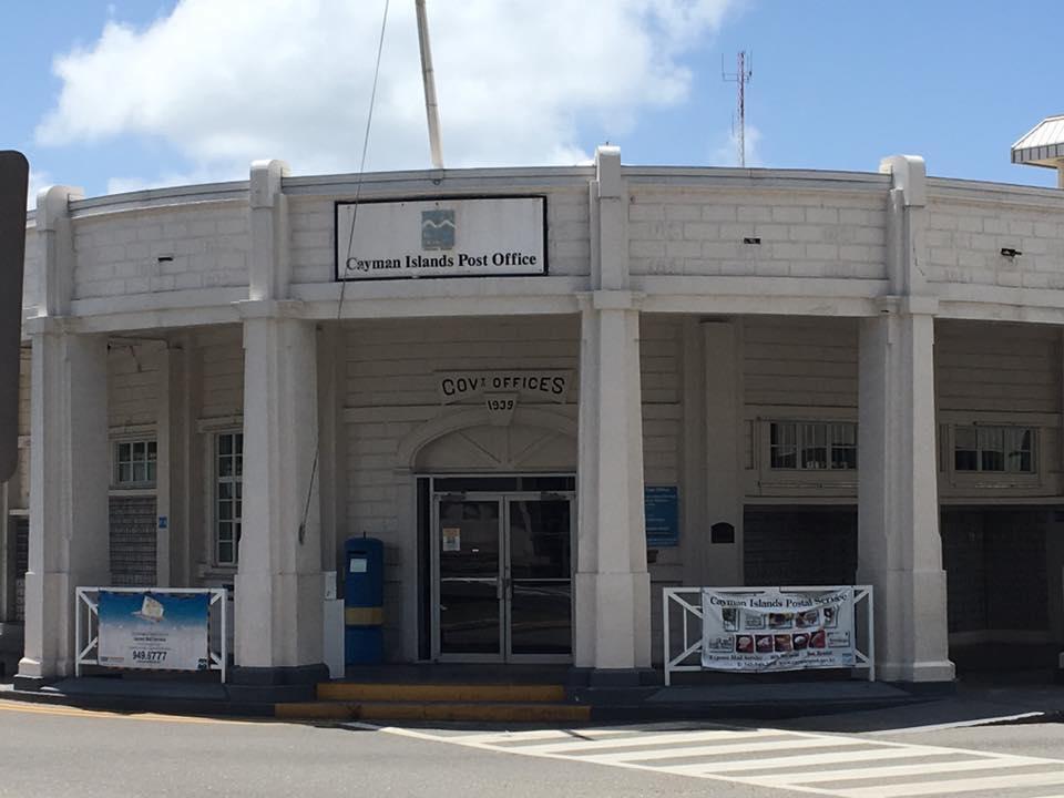 ケイマンの郵便局